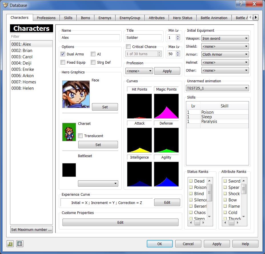 Editor Qt Database